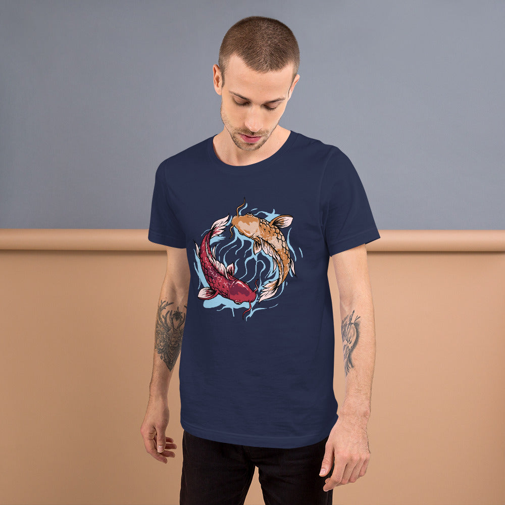 Koinobori Fish Short-Sleeve Unisex T-Shirt