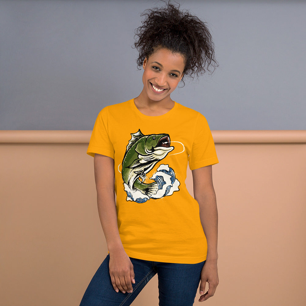 Fish Escape Short-Sleeve Unisex T-Shirt