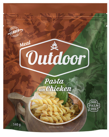 Outdoor Pasta with Chicken