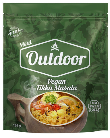 Outdoor Vegan Tikka Masala Couscous