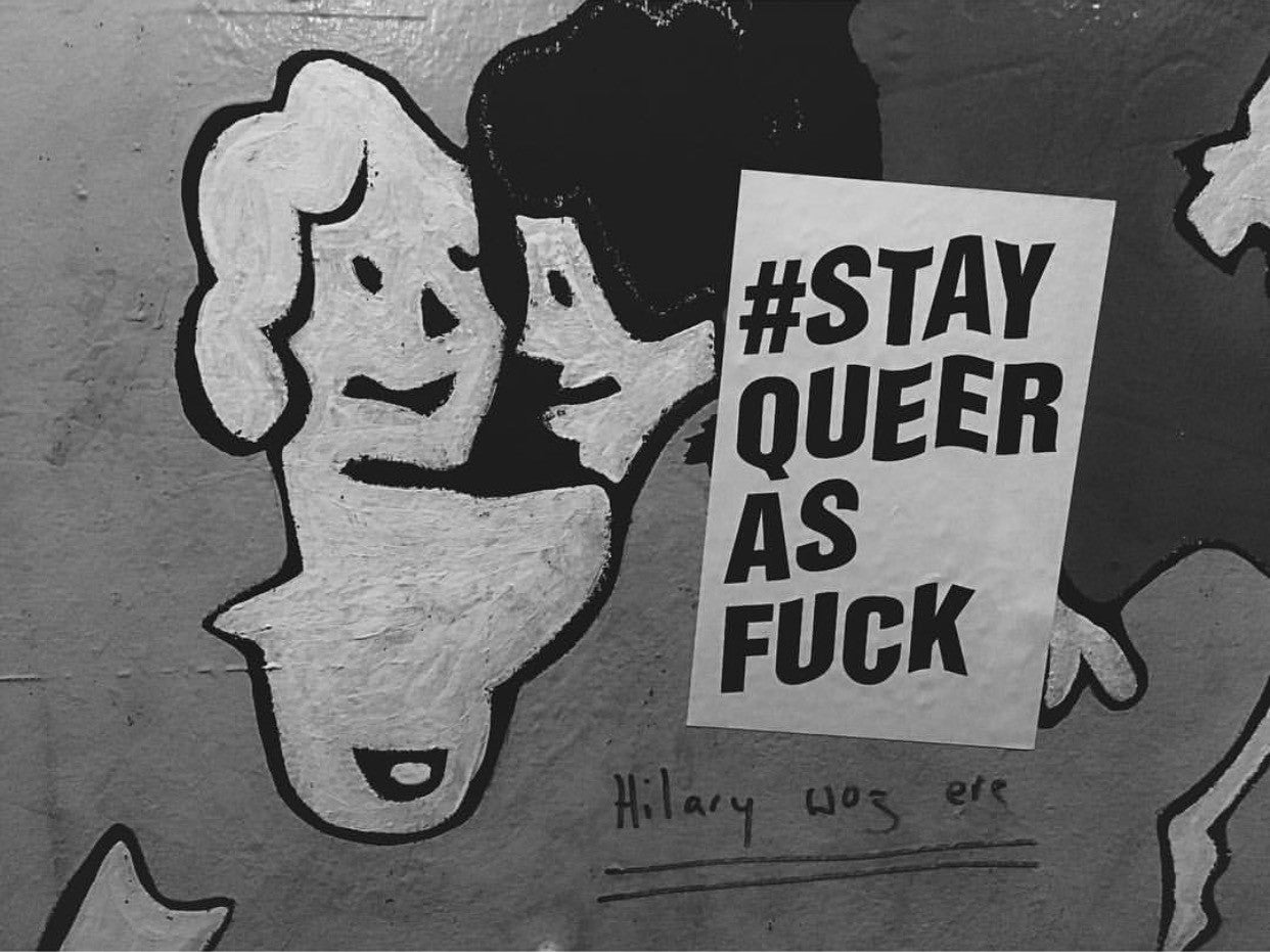 Ambitions for the blog - stay queer as fuck!