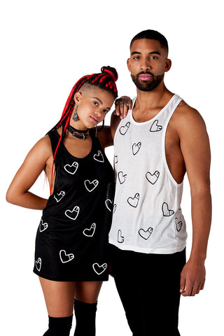 cockheart queer unisex london underground fashion brand cock tee