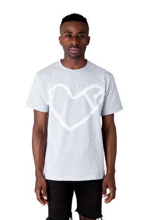 Cockheart Original Tee in Grey