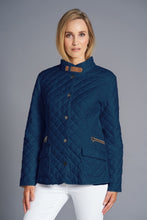 Load image into Gallery viewer, Junge Coat Style 0120-2847-63 (Navy)