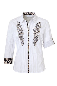 Just White Blouse Style 42610
