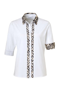 Just White Blouse Style 42631