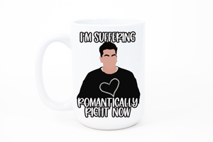 Suffering Romantically Mug