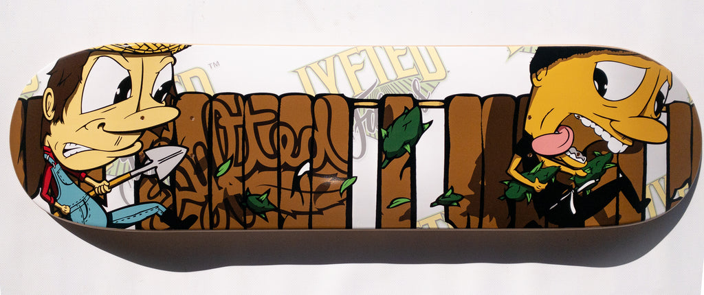 LYFTED - CROP BUSTER -  SKATEBOARD DECK