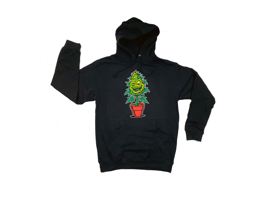 LYFTED - LIMITED EDITION JIMBO PHILLIP'S MASCOT HOODIE - BLACK