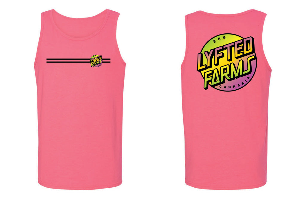 LYFTED - BEACH CRUZ TANK - PINK
