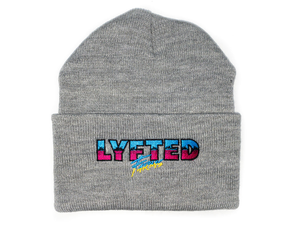 LYFTED - SOUTH BEACH BEANIE -GREY