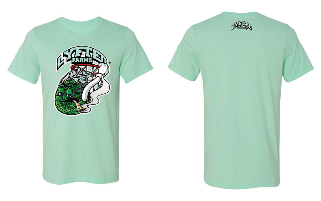 LYFTED - SLAM DUNK TEE - MINT