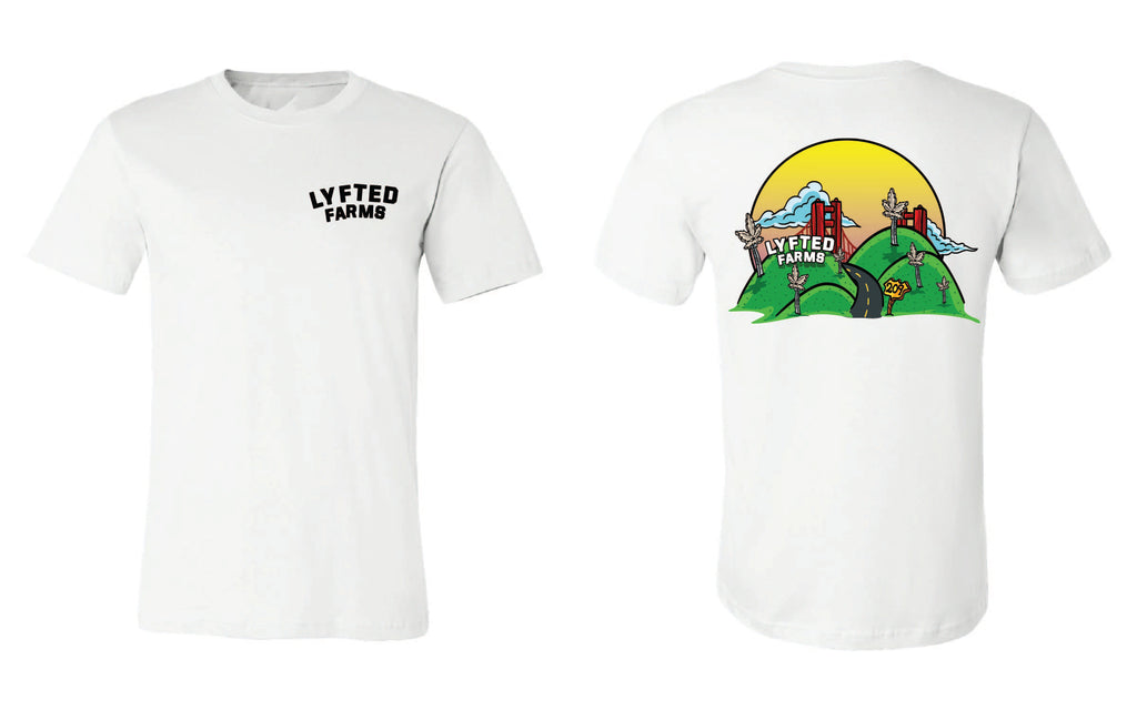 LYFTED - ALTAMONT TEE - WHITE