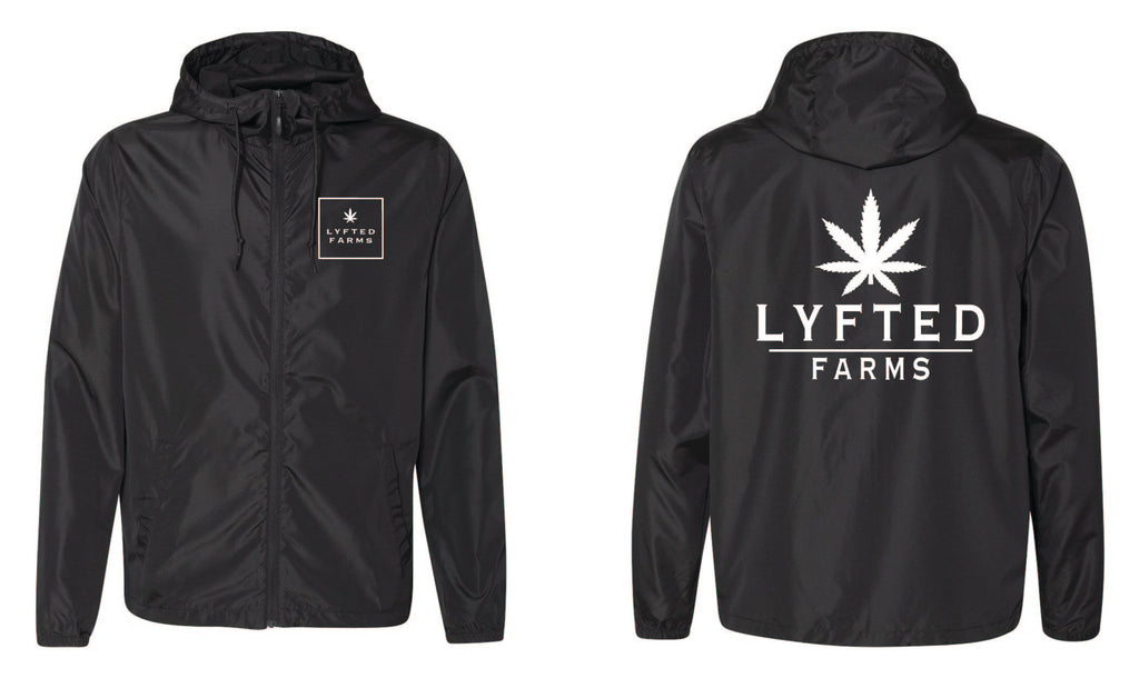 LYFTED - WINDBREAKER - BLACK