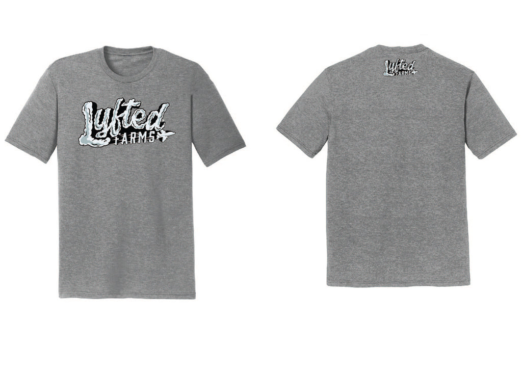 LYFTED - HIGH IN THE SKY TEE - GREY