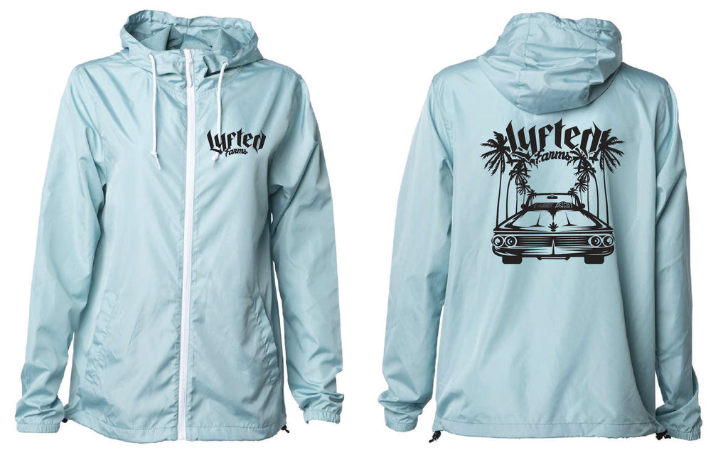 LYFTED - LOWRIDER WINDBREAKER - TEAL
