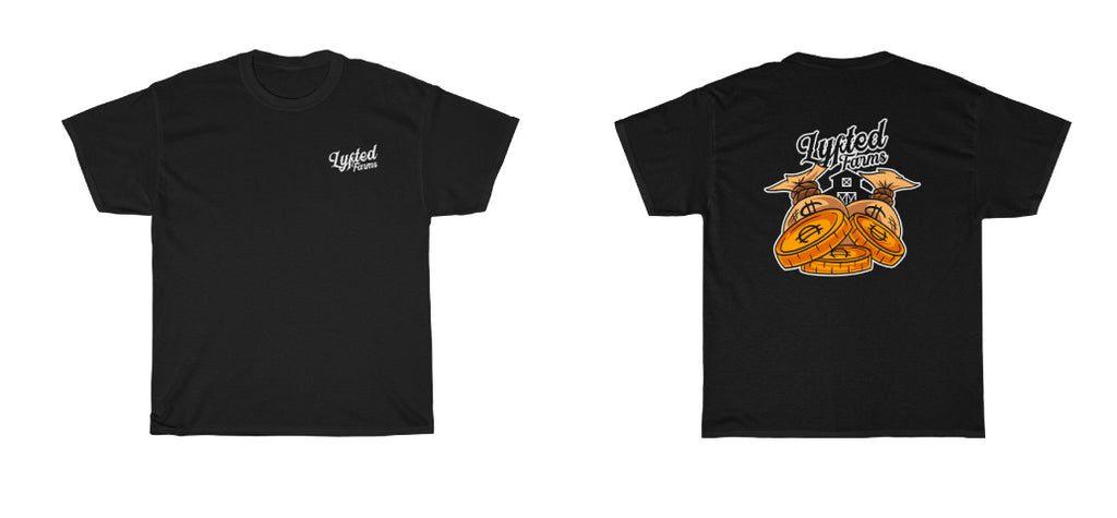LYFTED - COINS TEE - BLACK