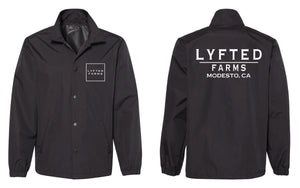 LYFTED - COACHES JACKET - BLACK