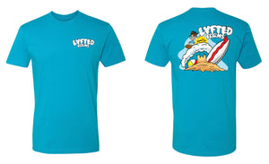 LYFTED - SURFER TEE - BLUE