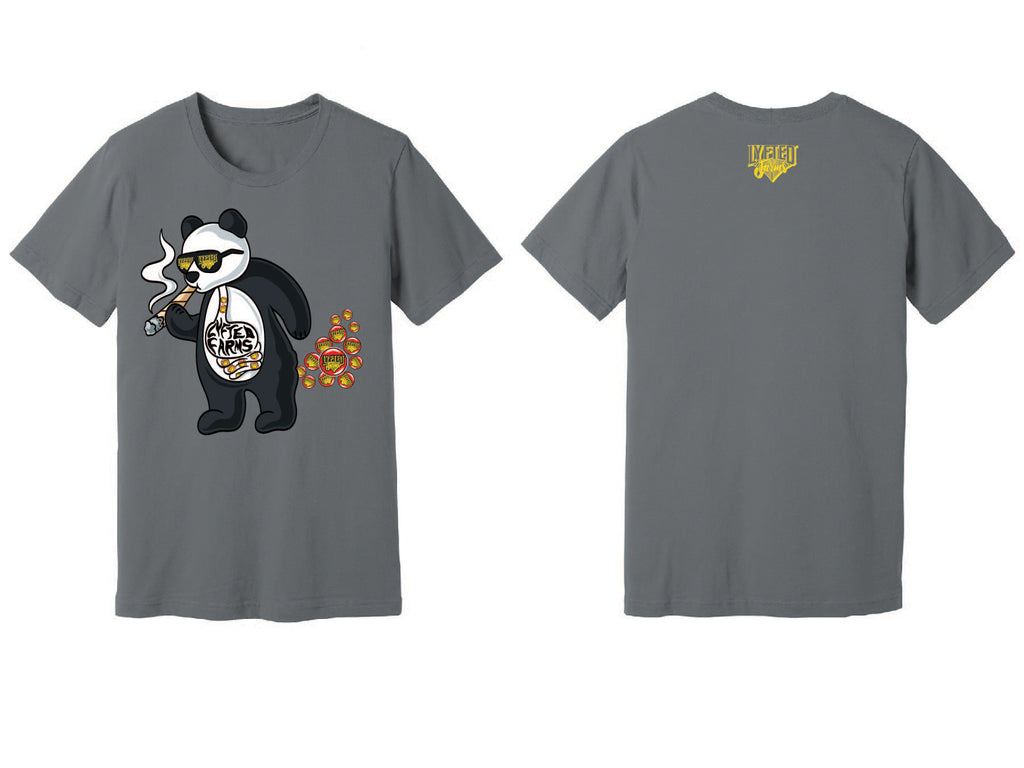 LYFTED - PANDA TEE - GREY