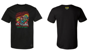LYFTED - JIMBO PHILLIPS' SANTA CRUZ RIDE-OUT TEE - BLACK