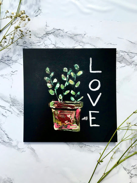 Love Grows Here Series Prints