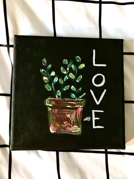 Love Grows Here Canvas Series