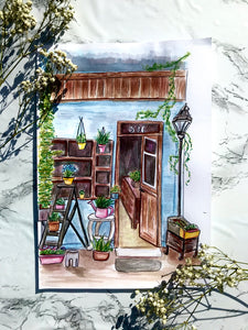 Flower Shop Painting