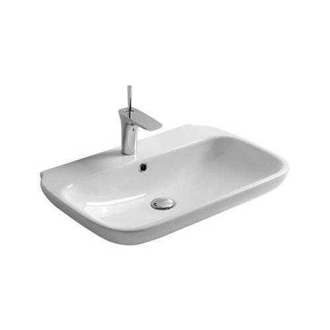 02 Olympia Clear 45/55/65/75 - Lavabo in Ceramica
