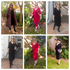 1 Wrap Dress, 4 Ways