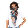 Scarf mask - Navy