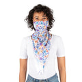 Scarf mask - Purple