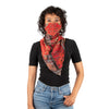 Scarf mask - Red