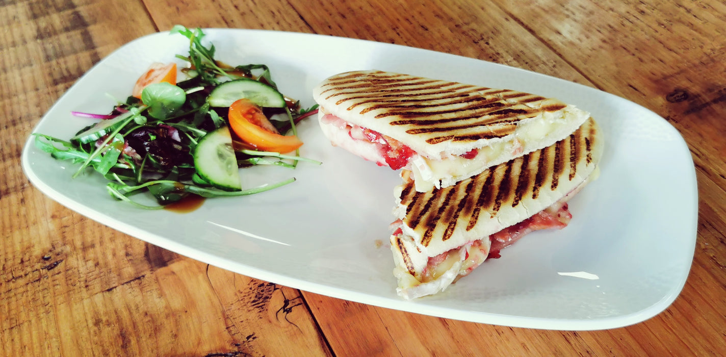 Toastie/Panini (Bacon, Brie & Cranberry)