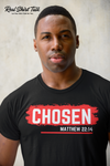 CHOSEN - BLACK & RED