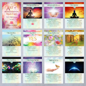 The Art of Manifestation Oracle Cards Signed & Numbered First Edition Pack