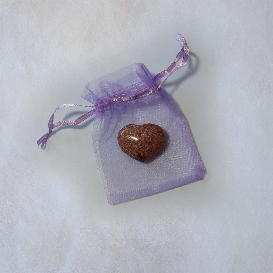 Lepidolite Heart 30mm