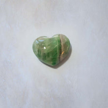 Load image into Gallery viewer, Rainbow Fluorite Heart 30mm