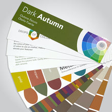 Load image into Gallery viewer, Dark Autumn Color Palette