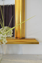 Load image into Gallery viewer, Bowler Gold Elegant Large Overmantle Mirror 120cm x 79cm