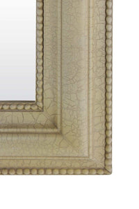 Large Bathroom Ivory Crackle Over Mantle Big Overmantle Wall Mirror 2Ft8 X 2Ft