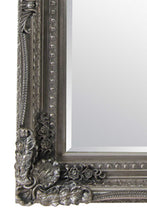 Load image into Gallery viewer, Carved Louis Silver Extra Large Wall Mirror 215 x 154 CM