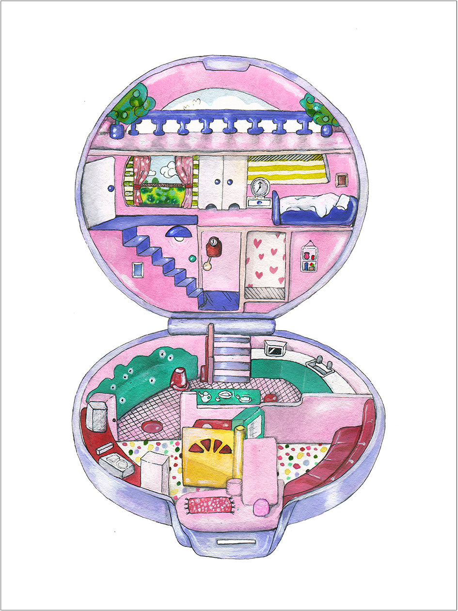 Polly Pocket Apartment