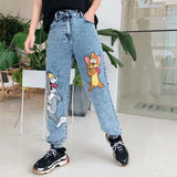 Tom And Jerry Jeans