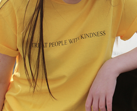 """Treat People With Kindness"" Tee"