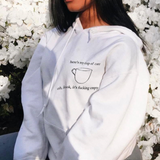 """Cup Of Care"" Hoodie"