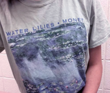 "Claude Monet ""Water Lilies"" Tee"