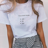 """I Have Three Moods"" Tee"