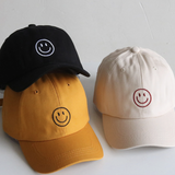 Embroidered Smile Hat