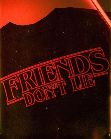 """Friends Don't Lie"" Stranger Things Tee"